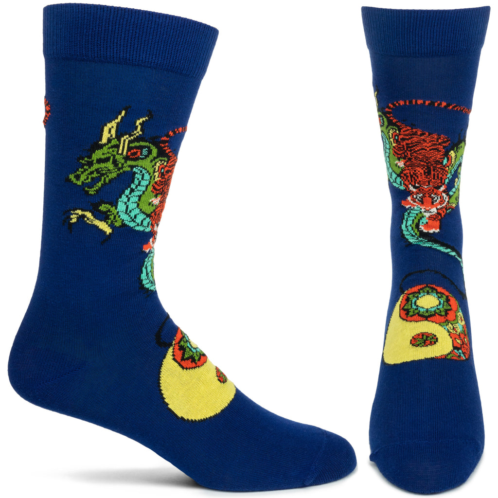 Taoist Tiger, Hidden Dragon Sock