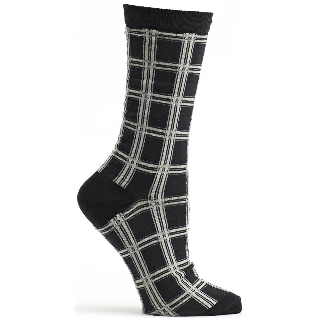 Masaii Plaid Sock