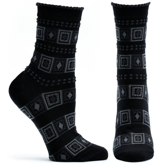 Diamonds and Dots Sock