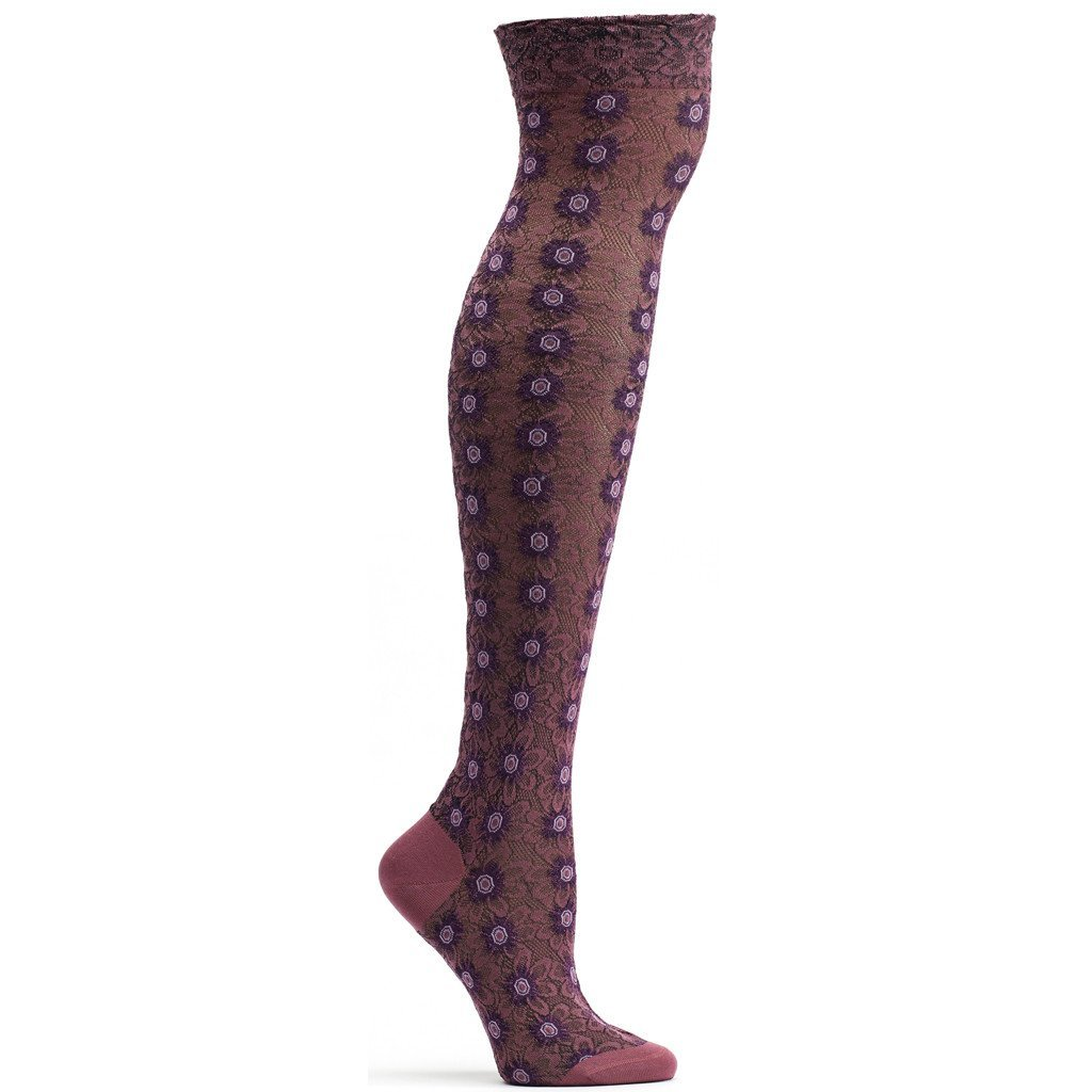 Floral Armor Over the Knee Sock - Ozone Design Inc