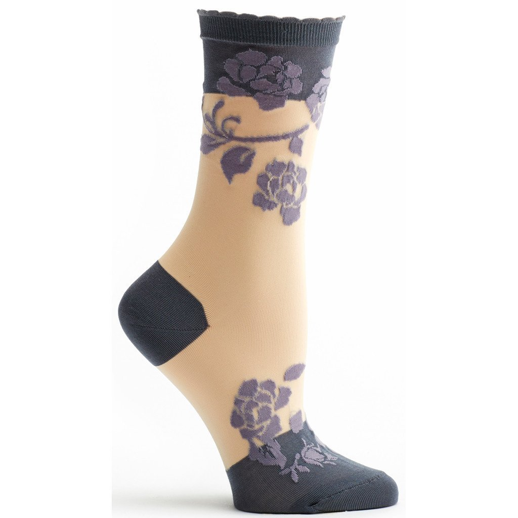 Sheer Rose Sock - Ozone Design Inc