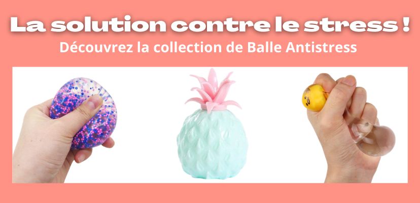 Collection balle antistress