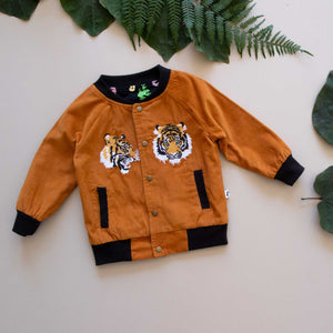 LOUISVILLE REVERSIBLE JACKET - CINNAMON TIGER