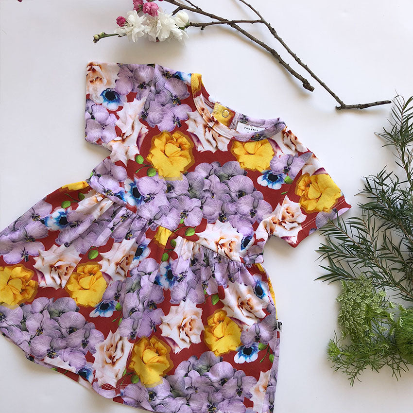 MIAMI DRESS BLOOMS