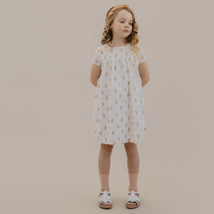 LILAH DRESS - INDIAN PAISLEY SHELL