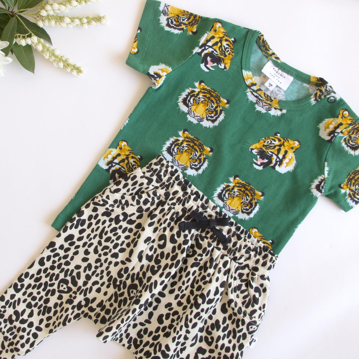 DENVER TEE VERONA TIGER GREEN
