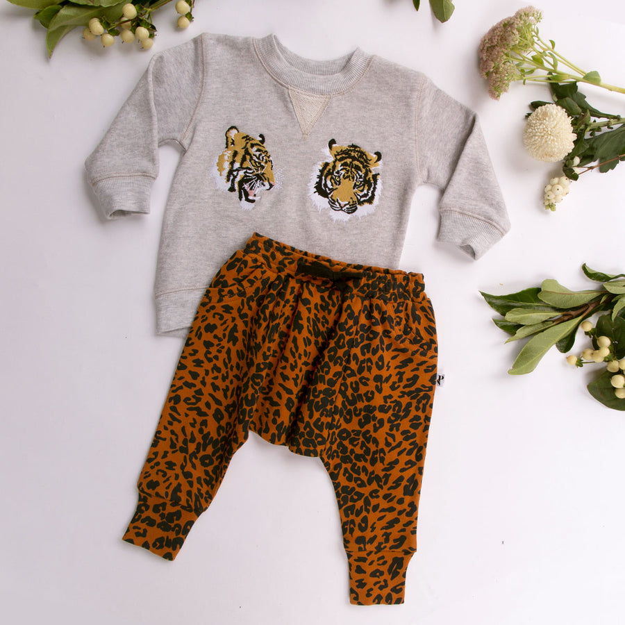 DAKOTA PULLOVER GREY MARLE TIGER