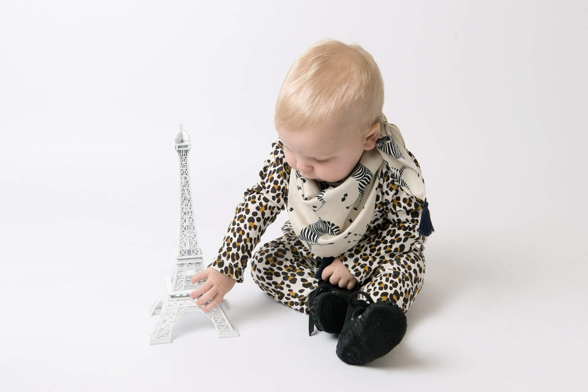 KNOXVILLE ROMPER - A LEOPARD IN PARIS