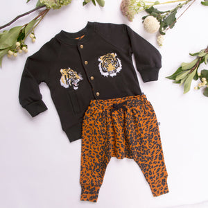DETROIT PANT GOLDEN LEOPARD