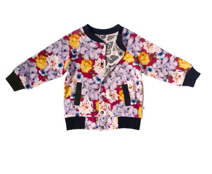 LOUISEVILLE REVERSIBLE JACKET - BLOOMS BUTTERFLY