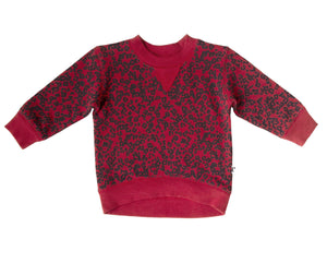 DAKOTA PULLOVER RUBY CHEETAH