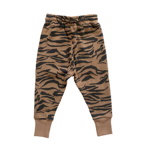 AUSTIN TRACKPANT - TIGER STRIPE FAWN