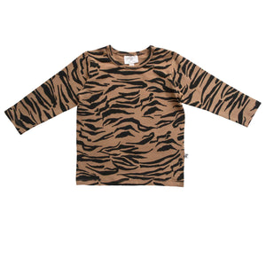 BALTIMORE TEE - TIGER STRIPE FAWN