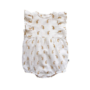 BELLLE ROMPER - INDIAN PAISLEY SHELL