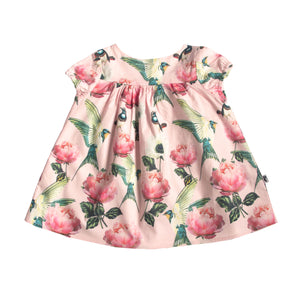 CHARLOTTE DRESS SWEET SORROW PINK