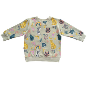 DAKOTA PULLOVER - ANIMAL KINGDOM BLUE