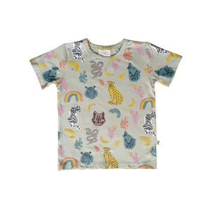 DENVER TEE - ANIMAL KINGDOM BLUE