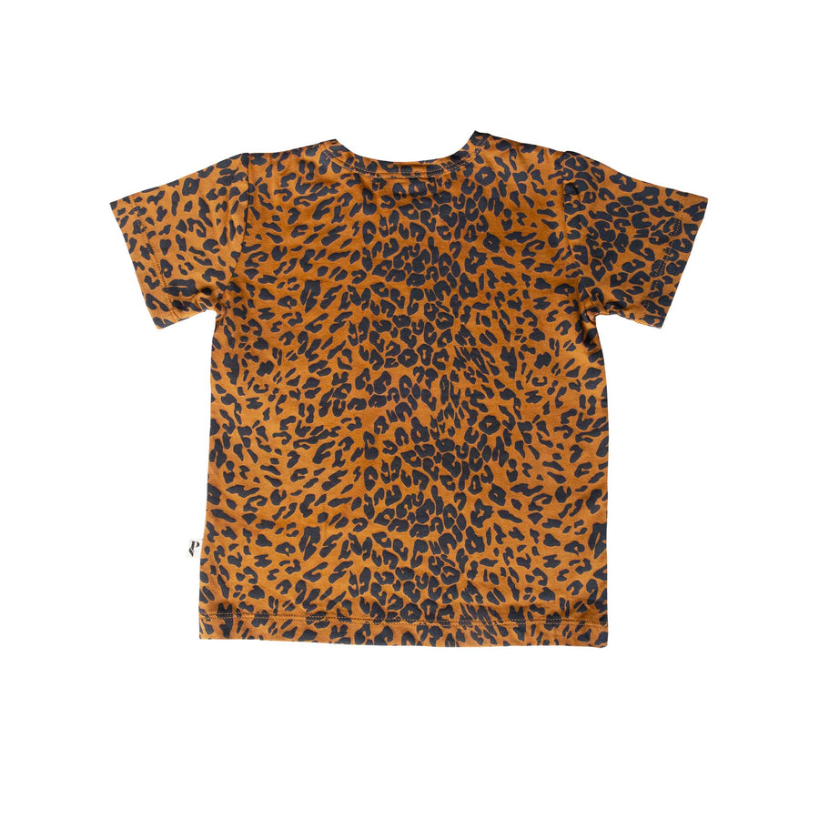 DENVER TEE - GOLDEN LEOPARD