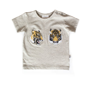 DENVER TEE GREY MARLE TIGER