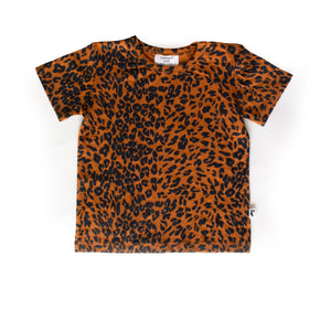 DENVER TEE GOLDEN LEOPARD