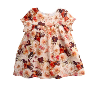 HAMPTON DRESS - DAHIA FLAMINGO