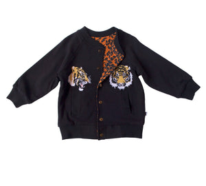 LOUISVILLE REVERSIBLE JACKET - BLACK TIGER