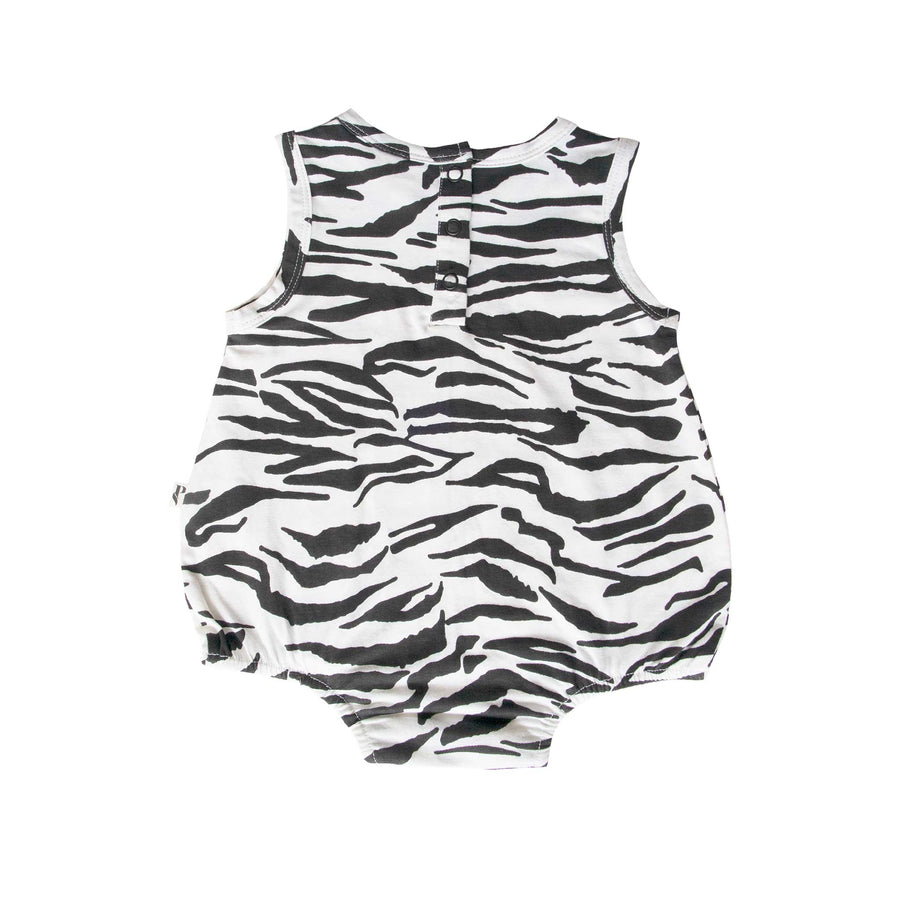 NEVADA BODYSUIT - TIGER SRTIPE WHITE
