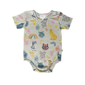 ORLANDO BODYSUIT - ANIMAL KINGDOM BLUE