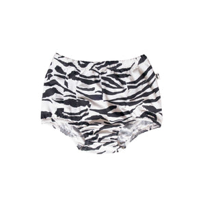 PASADENA SHORTIE - TIGER STRIPE WHITE