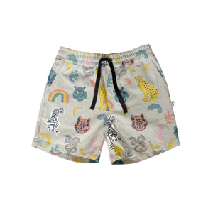 RILEY SHORT - ANIMAL KINGDOM BLUE