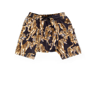 WASHINGTON SHORT TIGER BLACK