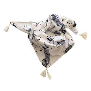 ARIZONA SCARF MARSEILLE ZEBRA CREAM