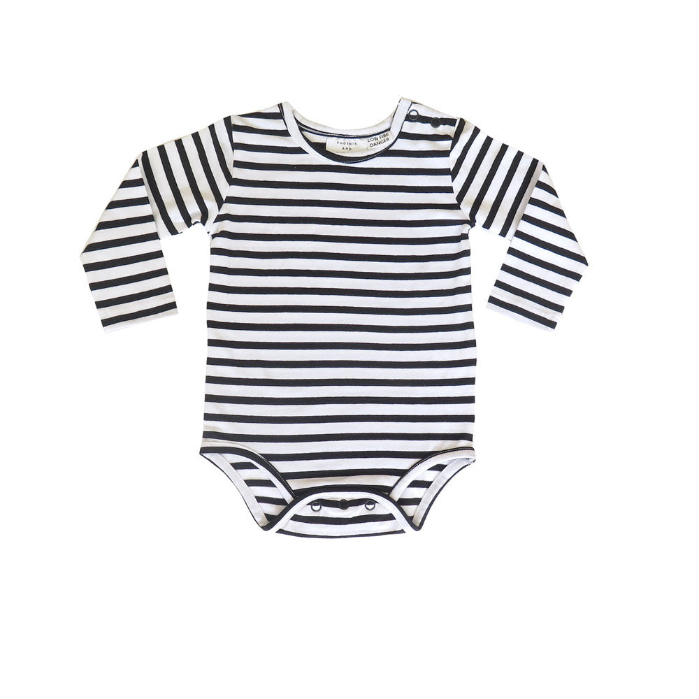 ATLANTA BODYSUIT - BONJOUR PARIS STRIPE