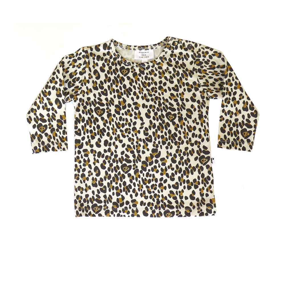 BALTIMORE TEE - A LEOPARD IN PARIS