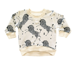 DAKOTA PULL OVER - MARSEILLE ZEBRA CREAM