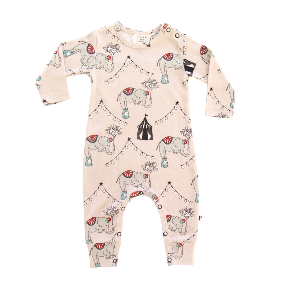 KNOXVILLE ROMPER - LE CIRCUS ELEPHANT