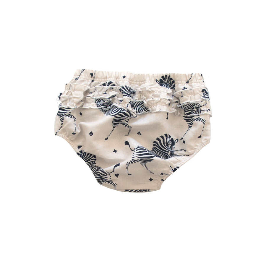 MADISON SHORTIE - MARSEILLE ZEBRA CREAM