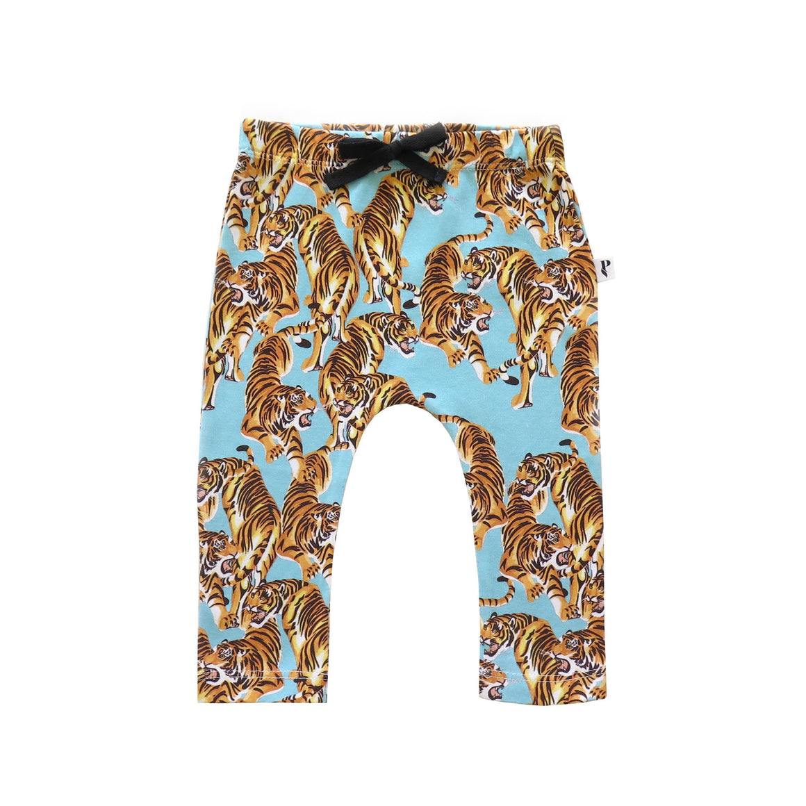 BOSTON LEGGING - THE YEAR OF THE TIGER BLUE