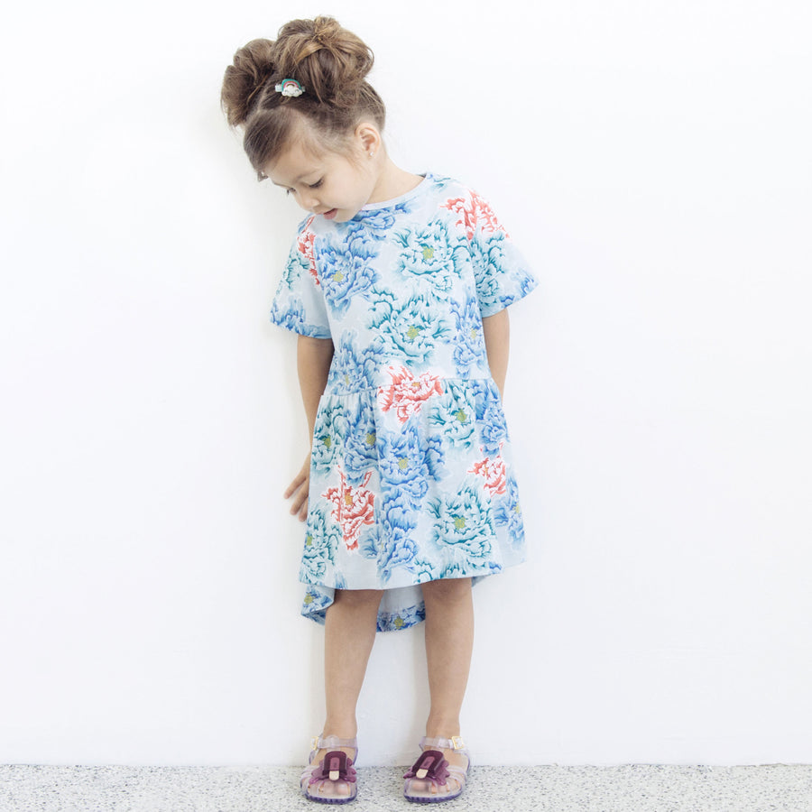 MEMPHIS DRESS - PEONIES