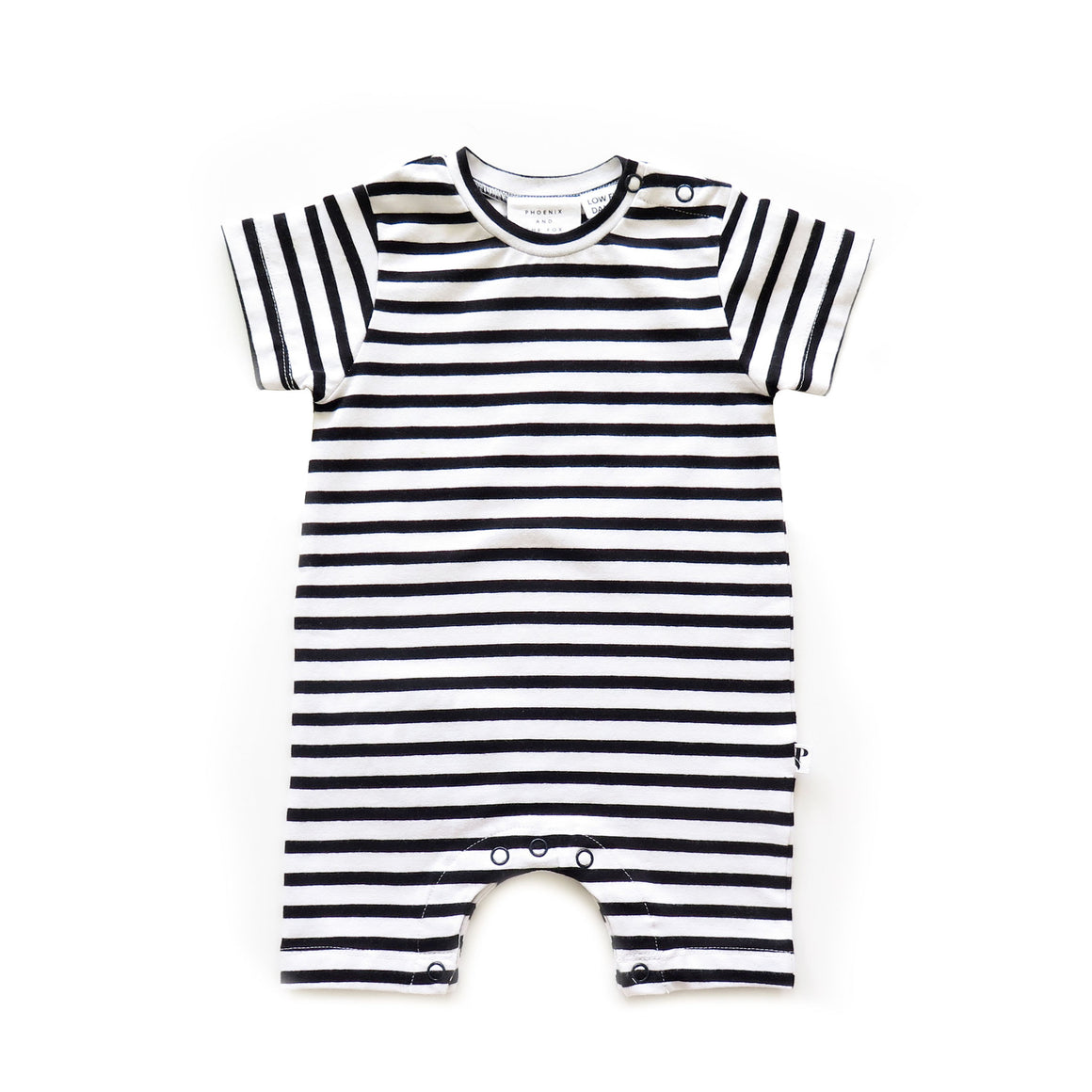 CLEVELAND ROMPER - CHINA TOWN STRIPE