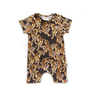 CLEVELAND ROMPER - YEAR OF THE TIGER BLACK