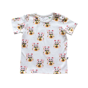 DENVER TEE - LUCKY CAT