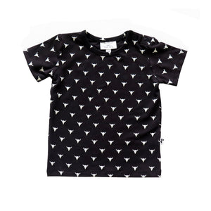 DENVER TEE - TEXAS BLACK