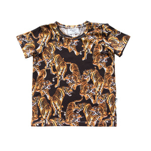 DENVER TEE - YEAR OF THE TIGER BLACK