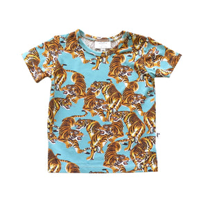 DENVER TEE - YEAR OF THE TIGER BLUE