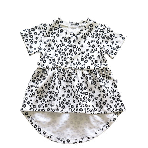 MEMPHIS DRESS - HARAJUKU LEOPARD