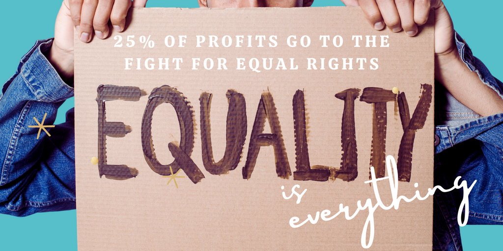 equality is everything baner