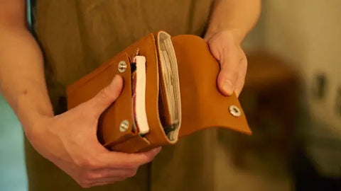 Multi-function Vintage Practical Leather Travel Dairy -  MerrySix Crafts