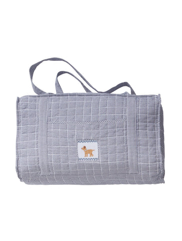 Little English Quilted Duffle Bag - Dog