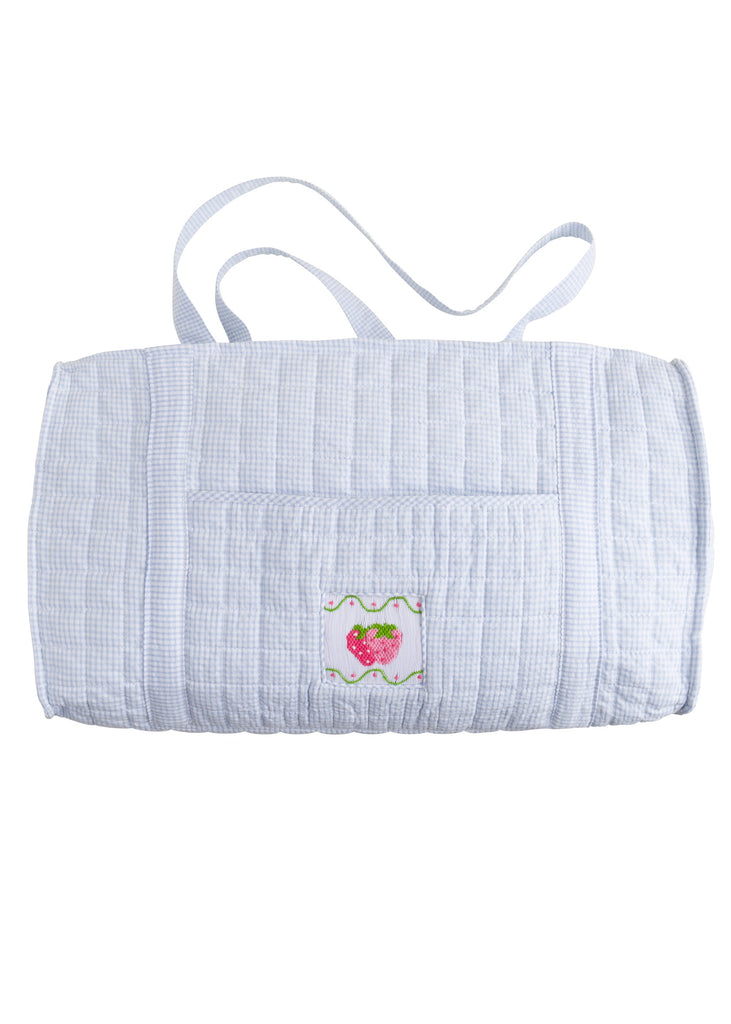 Little English Quilted Duffle Bag - Strawberry